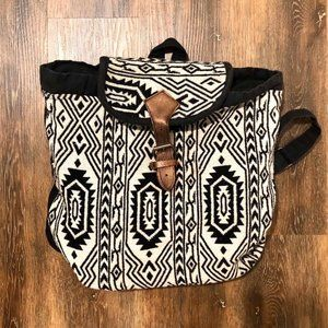 Tribal print back pack from World Market